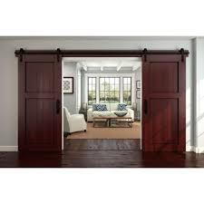 national hardware decorative interior sliding door hardware 920 int sl dr h the home depot barn style sliding doors
