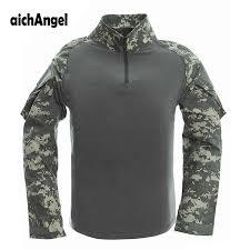 US <b>Army Military Uniform</b> Combat T Shirt Combat Tactical Men ...