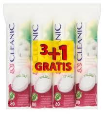Промо-набор Cleanic <b>Pure</b> effect <b>Ватные диски</b> гигиенические 80 ...