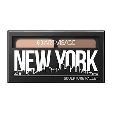 """<b>ART</b>-<b>VISAGE Набор для скульптурирования</b> """"NEW YORK"""" кремовый"""