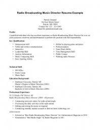 resume music   best resume samplemusic resume examples