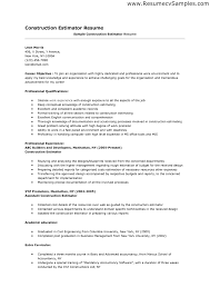 resumes for construction estimator cipanewsletter cover letter sample construction resume sample construction resume
