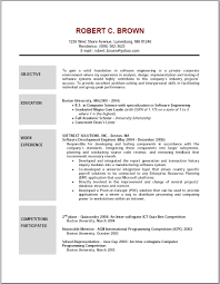 examples of resumes resume template objective bartender 87 glamorous simple resume sample examples of resumes