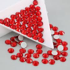 Top Quantity SS3-SS30 Crystal <b>siam Color Strass</b> Glass <b>Stones</b> non ...