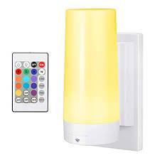 RGB <b>Wireless Remote</b> Control 10 LED Colour Changing <b>Night Light</b> ...
