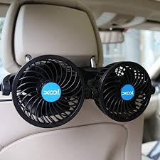 XOOL Car Fan, Electric Car Fans for Rear Seat ... - Amazon.com