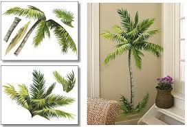 palm tree wall stickers: wallies palm tree big wall mural wall sticker outlet wallpaper pinterest trees the ojays and the wall