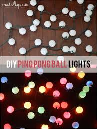 diy ping pong ball lights lighting outdoor living repurposing upcycling cheap diy lighting