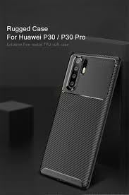 <b>Keajor Soft Case For</b> Huawei P30 P30Pro Case Carbon Fiber Armor ...