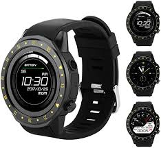 Bluetooth Mens Smartwatch with Heart Rate Blood ... - Amazon.com