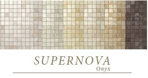 <b>Мозаика керамическая Atlas</b> Concorde Supernova Onyx Black Agate