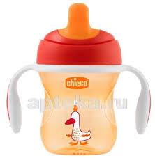 <b>Chicco training cup поильник</b> 6+ 200мл/красный - цена 469 руб ...