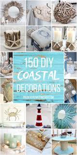 150 Coastal <b>DIY Home Decor</b> Ideas - Prudent Penny Pincher