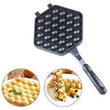 MINI Portable Hong Kong <b>Eggs Bubble</b> Waffle Maker <b>QQ egg</b> ...