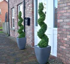 2 best artificial 4ft 120cm topiary spiral boxwood buxus trees plant ball grass ebay artificial topiary tree ball plants pot garden