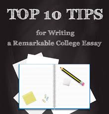 college infographic archives   e learning infographics top  tips for writing a remarkable college essay infographic
