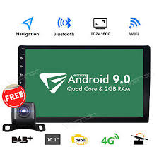 Double <b>2Din</b> 10.1inch <b>Android 9.0</b> Quad Core Car Radio In Dash ...