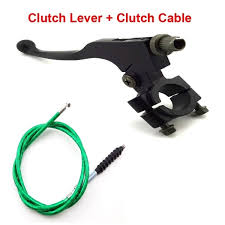 FishMotor Black <b>Clutch Lever</b> With Green Clutch <b>Cable</b> For Chinese ...