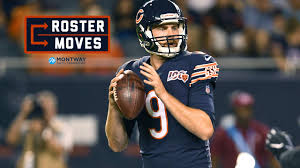 Roster moves: Bears elevate Bray