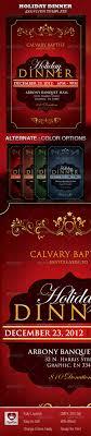 holiday dinner church flyer by royallove graphicriver holiday dinner church flyer holidays events
