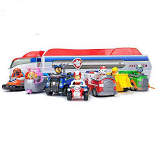 original box genuine paw patrol flip fly chase 2 in 1 transforming vehicle chase marshall skye rubble kids toy gift new