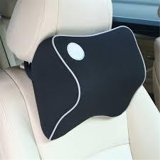 New Space Cotton <b>Memory Car Seat</b> Cushion <b>Car Headrest</b> Auto ...