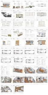 Our Tiny House Floor Plans  Construction PDF   SketchUp    The    Tiny Project Tiny House Construction Plans
