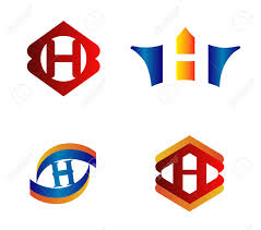 letter h logo design concepts set alphabetical royalty letter h logo design concepts set alphabetical stock vector 44399943
