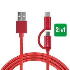 ComboCord <b>Micro</b>-<b>USB</b> & USB <b>Type</b>-<b>C</b> Cable - 4smarts - Gadgets ...