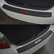 Car Accessories For NISSAN Micra PU leather <b>Carbon fiber Styling</b> ...