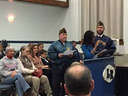 local vfw celebrates patriots pen and voice of democracy essay patriots pen oluwakamiye ogunyankin credits roxbury township public schools