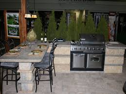 patio outdoor stone kitchen bar:  very attractive outdoor kitchen bar outdoor kitchens bars category outdoor kitchens bars