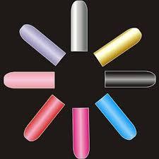 16 PCS <b>Pure</b> Colors <b>Nail Art</b> Polish Foil Full <b>Stickers</b> - US$1.99