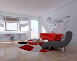 Red Wall Living Room Decorating 28 Red And White Living Rooms