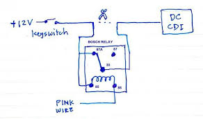 the pink and gray wires of cyclone alarm on the given circuit the relay will only be energized when 1 the pink wire connects to ground and 2 there is 12v power for the relay