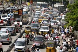 Image result for heavy traffic in chennai images