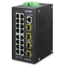 IGS-20040MT <b>IP30 Industrial 16* 10/100</b>/<b>1000TP</b> + 4* 100/1000F ...