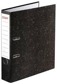 Купить STAFF <b>Папка</b>-<b>регистратор</b> с мраморным покрытием без ...
