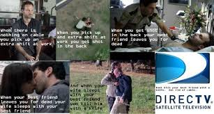 Rick Grimes & Direct TV commercial spoof. #TheWalkingDead | Undead ... via Relatably.com