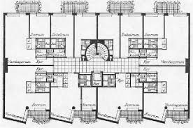 Figure   Floor plan of one of the first collective housing    Floor plan of one of the first collective housing projects in Stockholm  John Ericssonsgatan     common diners  child care and small shop  source