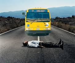 Image result for thrown under the bus clipart