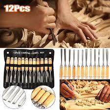 Yosoo <b>Wood Carving</b> Hand <b>Chisel</b> Set,<b>12PCS Wood Carving</b> Hand ...