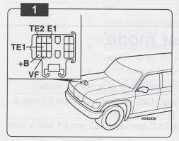 toyota 92 95 pickup or 4runner 3 0l or 93 94 t100 3 0l obd obd2 pickup 4runner 92 95 checking codes 1 t100 93 94