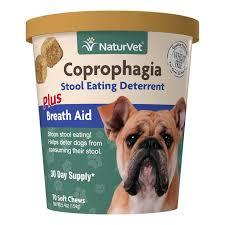<b>Coprophagia Stool Eating Deterrent</b> Soft Chews - NaturVet