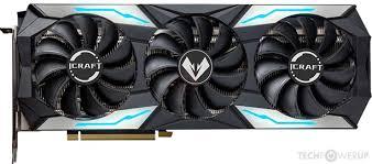 <b>MAXSUN RTX</b> 3060 iCraft OC Specs | TechPowerUp GPU Database