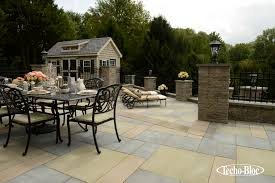 covered patio freedom properties: photo provided by techo bloc a   photo provided by techo bloc
