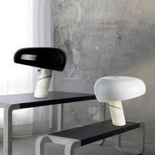 <b>Mushroom Table</b> Lamp White UK