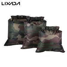<b>Lixada Pack of</b> 3 Waterproof Dry Bag 3L+5L+8L Outdoor Waterproof ...