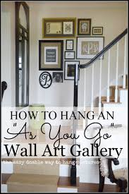 iron wall decor u love: share how to create an as you go wall art gallery title pate stonegableblogcom