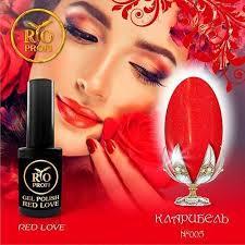 Rio Profi, <b>Каучуковый гель-лак</b> Red Love №5 (3,5 мл) - купить в ...